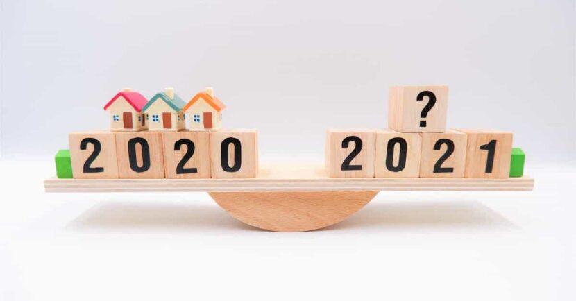 vývoj hypoték 2020-2021